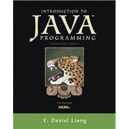 Introduction to Java Programming, Comprehensive Version: Liang, Y. Daniel