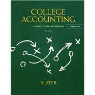 College Accounting: Slater, Jeffrey