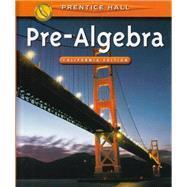 Pre-Algebra California Edition: Davison, David M.;