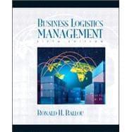 Business Logistics Management: Ballou, Ronald H.