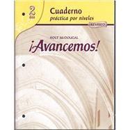 9780618765942: Avancemos: Cuaderno Practica Por Niveles 2