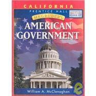 Magruder's American Government: California Edition: McClenaghan, William A.