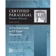 Certified Paralegal Review Manual, 4th: Newman