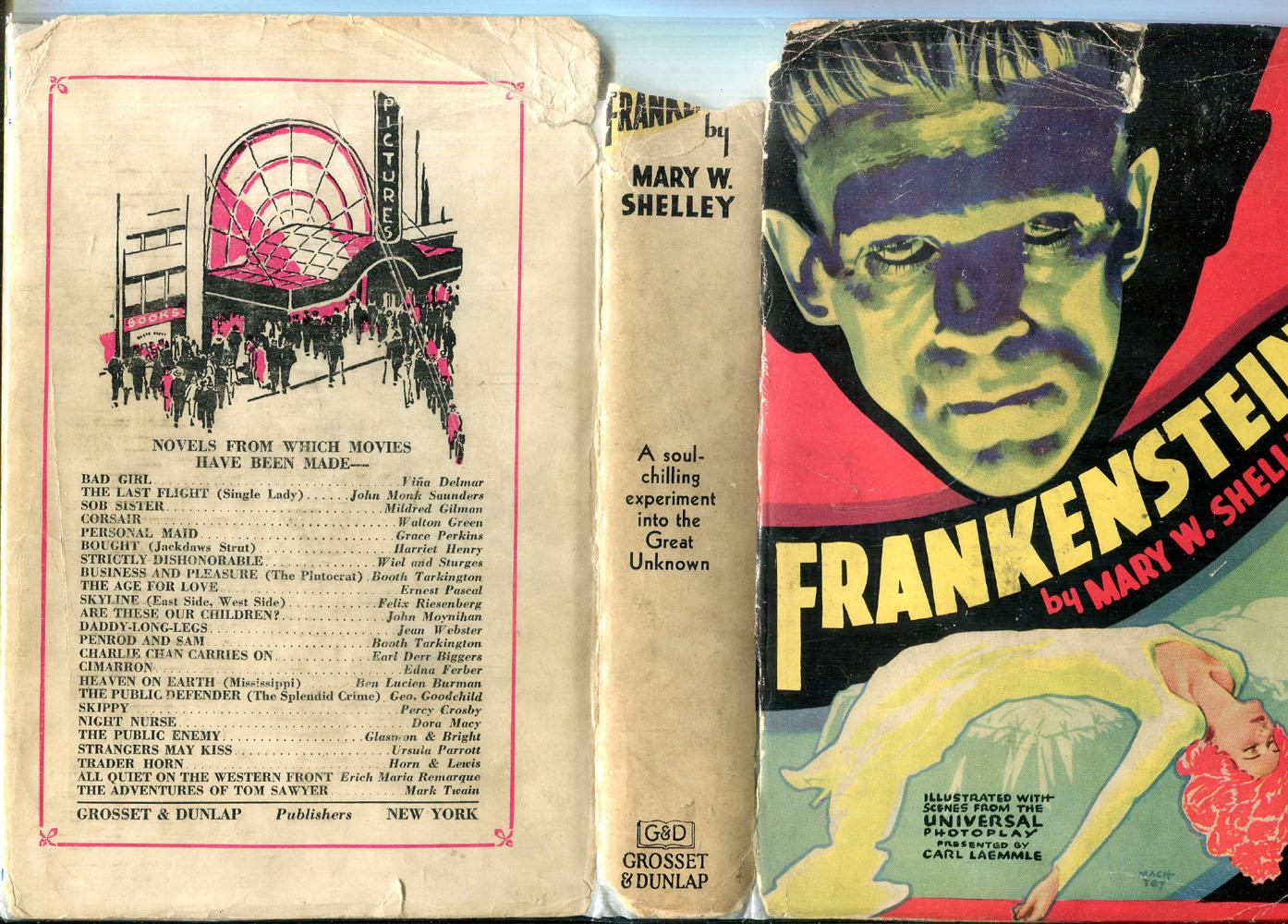Frankenstein (Photoplay Edition): Shelley, Mary W.
