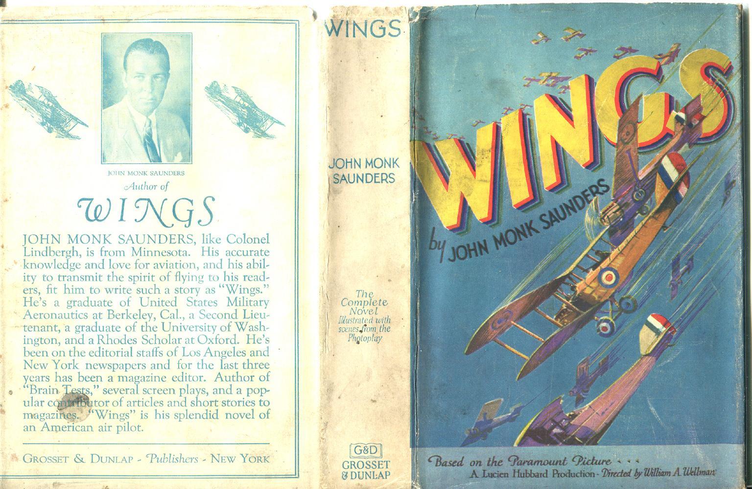 Wings: Saunders, John Monk