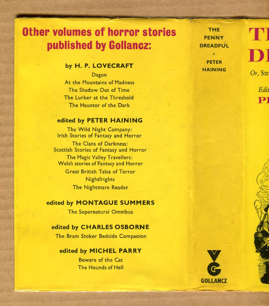 The Penny Dreadful: Haining, Peter (Editor)