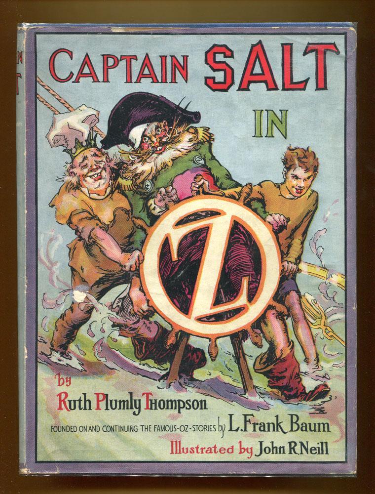 Captain Salt In Oz: Thompson, Ruth