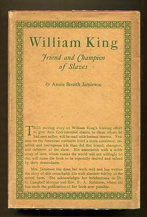 William King: Jamieson, Annie Straith (Illustrated by Photo Ills. )