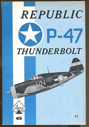 Republic P-47 Thunderbolt: Aeronautical Staff of