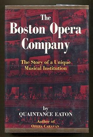 The Boston Opera Company: Eaton, Quaintance