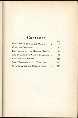 Music After the Great War: Van Vechten, Carl
