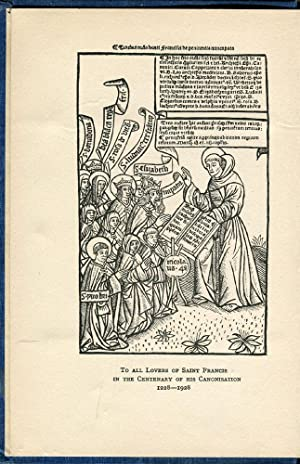 Among the Franciscan Tertiaries: De Robeck, Nesta