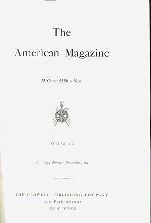 American Magazine Vol. CII (102) -July 1926 - December 1926: Grey, Zane & Post, Melville Davidson &...