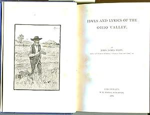 Idyls and Lyrics of the Ohio Valley: Piatt, John James