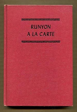 Runyon A'La Carte: Runyon, Damon