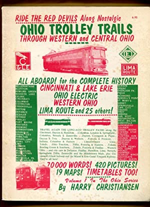 Ohio Trolley Trails Through Western and Central Ohio: Christiansen, Harry