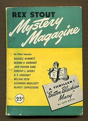 Rex Stout Mystery Magazine, Feb. 1946, #3: Hammett, Dashiell & Others