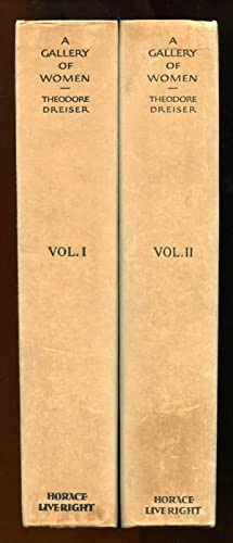 A Gallery of Women complete in 2 Volumes (Signed/Limited Ed.): Dreiser, Theodore
