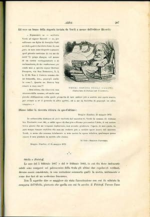 L'Opera Italiana Nel Secolo XIX: Colombani, Alfredo