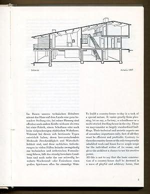 Ferien-Und Landhauser, Weekend and Country-House: Artaria, Paul