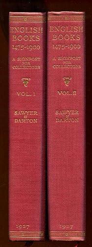 English Books 1475-1900 Two Volume Set, Complete: Sawyer, Charles J. & Darton, F. J. Harvey