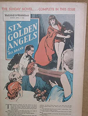 Six Golden Angels (April 17, 1938 Sunday Novel Newspaper Supplement from the Chicago Herald ...