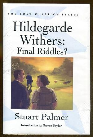 Hildegarde Withers Makes the Scene: Palmer, Stuart & Flora, Fletcher