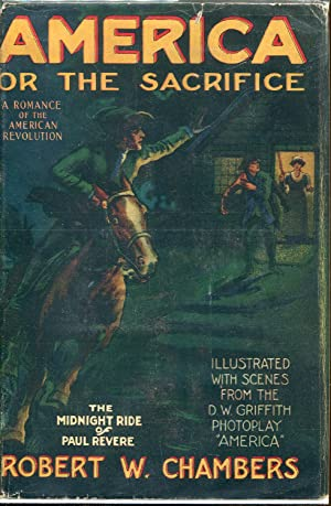America or The Sacrifice: Chambers, Robert W.