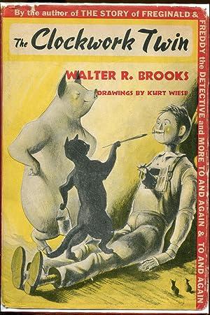 The Clockwork Twin: Brooks, Walter R.