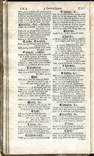 A Brief Concordance: or, Table to the Bible of The Last Translation: Downame, John