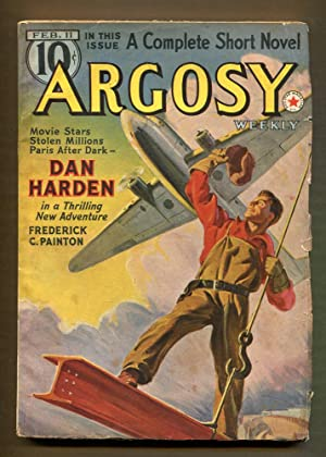 Argosy Weekly,February 11, 1939: Burroughs, Edgar Rice & Others