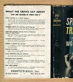 Spies and Traitors of World War II: Singer, Kurt