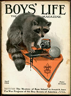BOY'S LIFE, THE BOY SCOUTS MAGAZINE; April 1918: Dan Beard et al