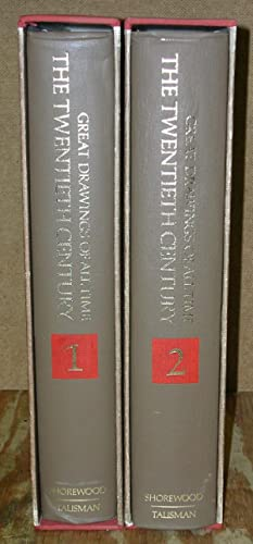 Great Drawings of All Time: The Twentieth Century-Two Volume Set: Thorson, Victoria