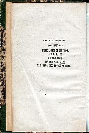 Lizze Lorton of Greyrigg / Buried Alive / Ambrose Fecit / Mr. Wynard's Ward &#...