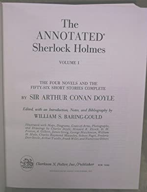 The Annotated Sherlock Holmes: 2 Volumes in One: Doyle, Arthur Conan