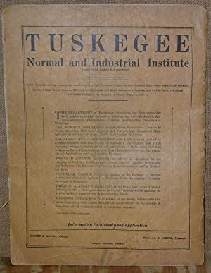 THE TUSKEGEEAN: Offical Organ of the Tuskegee General Alumni Association, OHIO EDITION March 1931: ...
