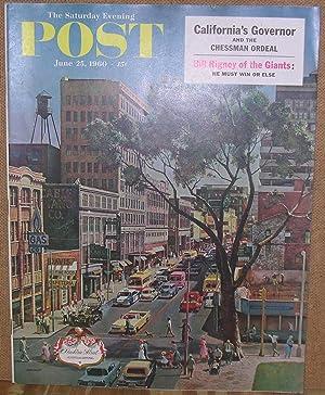The Saturday Evening Post: June 25, 1960: Hibbs, Ben (Editor)