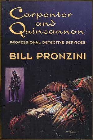 Carpenter and Quincannon: Professional Detective Services: Pronzini, Bill