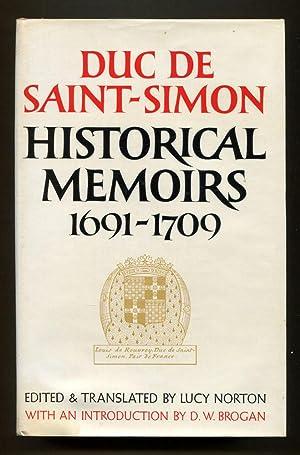 Historical Memoirs of the Duc De Saint-Simon: A Shortened Version: Two Volumes Set, complete: ...