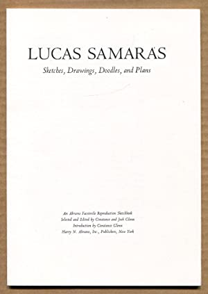 LUCAS SAMARAS Sketches, drawings, doodles, and plans: GLENN, Constance and Jack