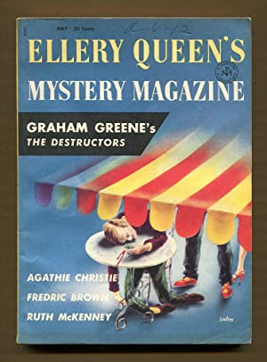 Ellery Queen's Mystery Magazine, July 1956: Queen, Ellery (Editor)