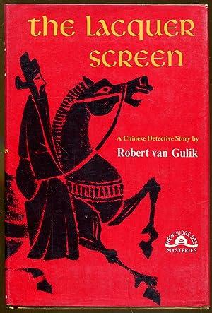 The Lacquer Screen: Van Gulik, Robert