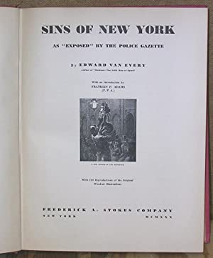 Sins of New York: Van Every, Edward
