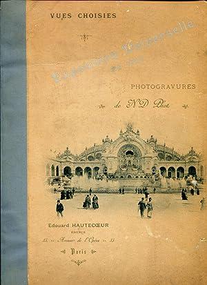 Exposition Universelle De 1900 Photogravures De N.: Hautecoeur, Jules (Editor)