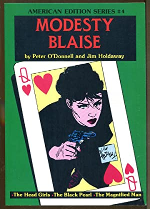 Modesty Blaise 4: The Head Girls-The Black Pearl-The Magnified Man
