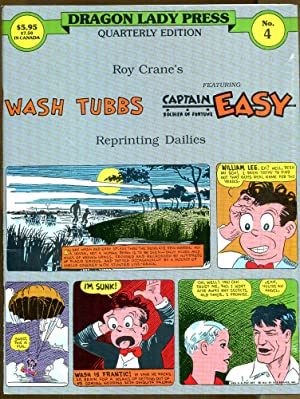 Dragon Lady Press Quarterly Edition No. 4: Wash Tubbs featuring Captain Easy