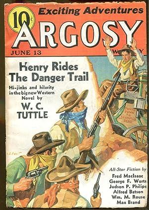 Argosy Weekly: June 13, 1936: Argosy Editors