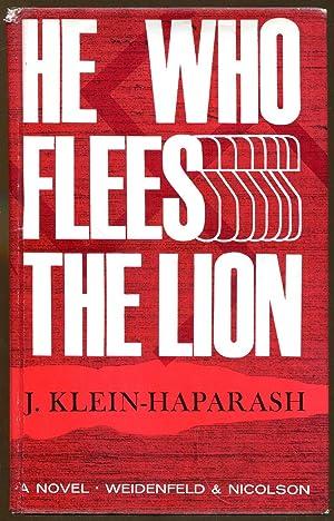 He Who Flees The Lion: Klein-Haparash, J.