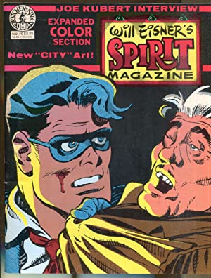 Will Eisner's Spirit Magazine No. 40